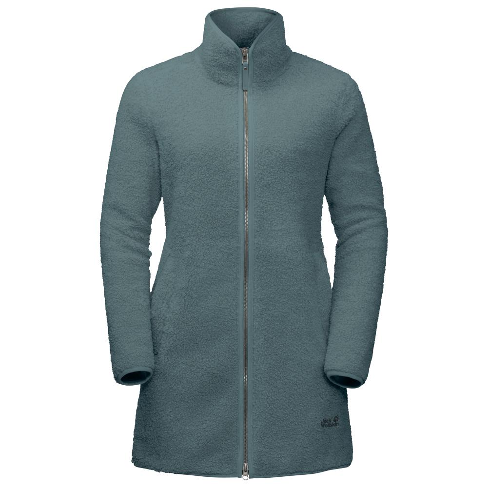 Jack Wolfskin Women's High Cloud Coat Fleecejacke Phantom | XS