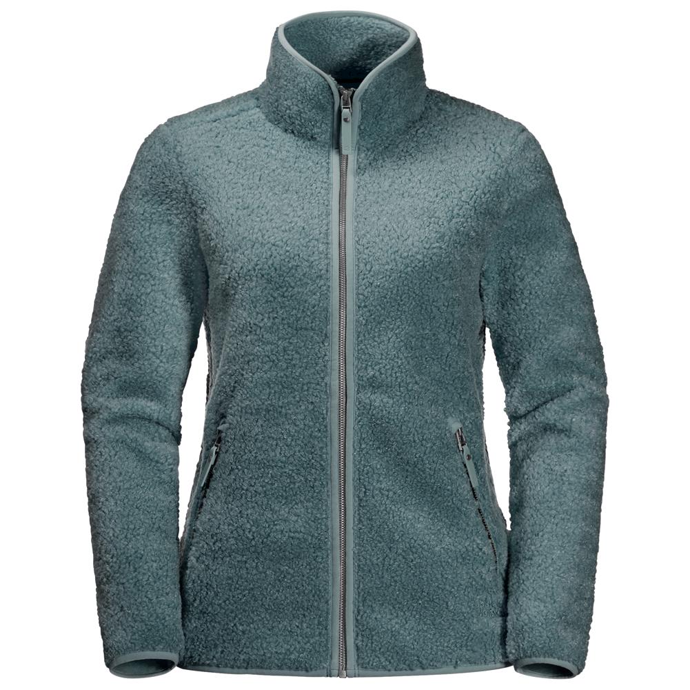 Jack Wolfskin Women's High Cloud Jacket Fleecejacke Phantom | XS