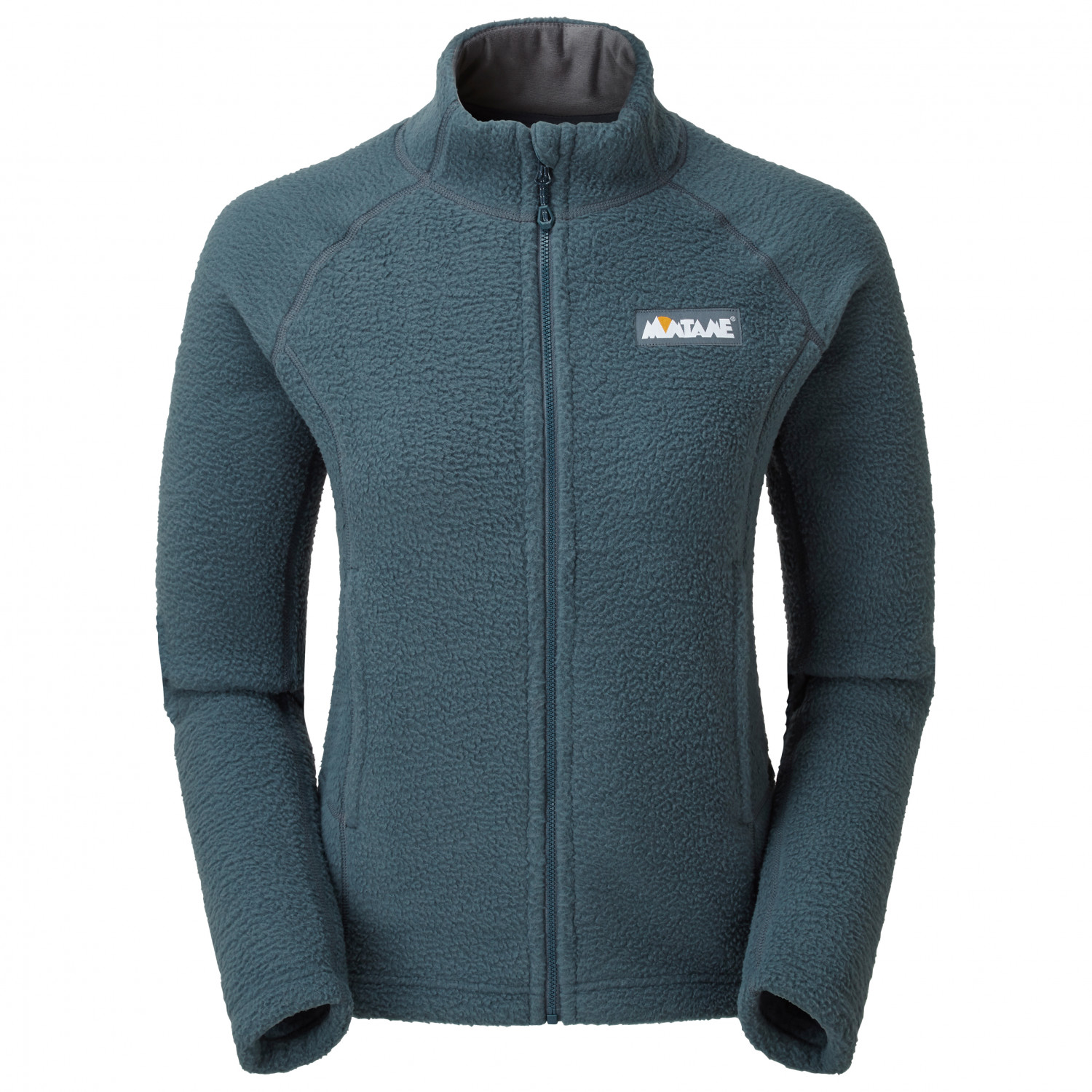 Montane Womens Tundra Jacket Top Blue Sports Outdoors Full Zip Breathable