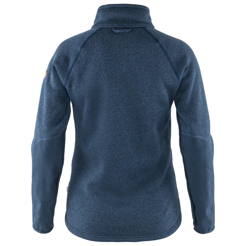 Fjällräven Women's Övik Fleece Zip Sweater Fleecejacke