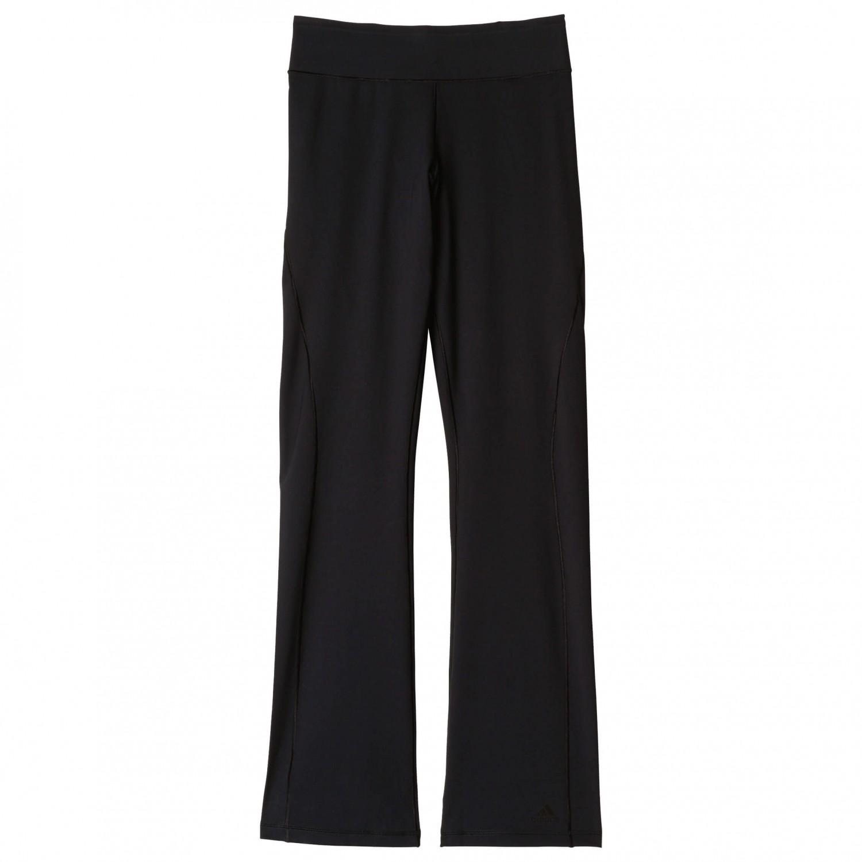 adidas Damen Trainingshose Workout Straight Pant schwarz