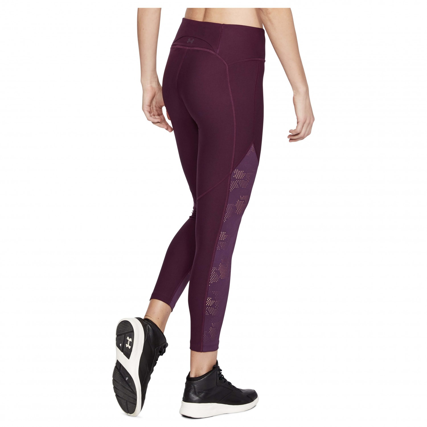 Under Armour Womens Tb Balance Mesh Ankle Crop Pants