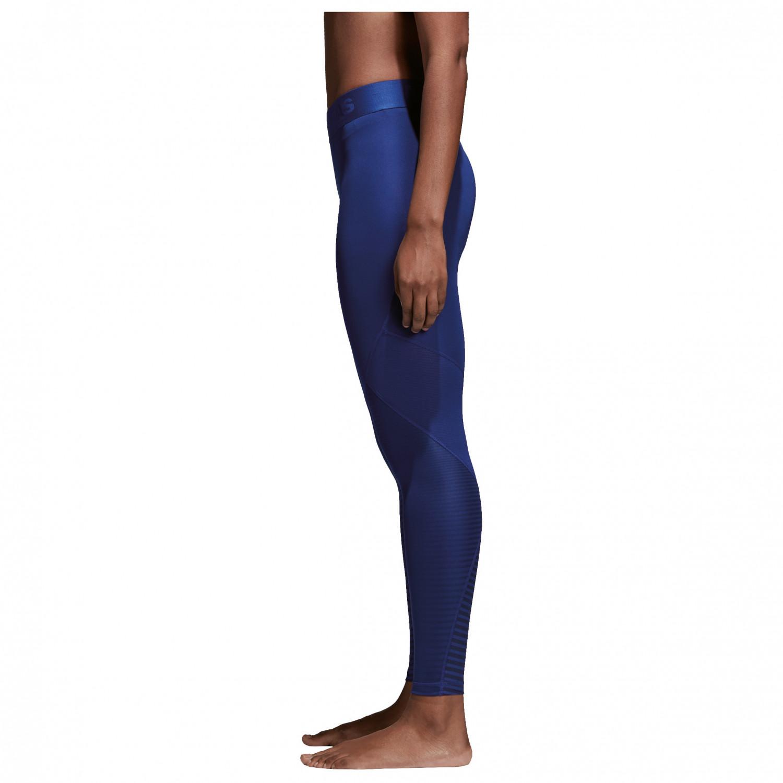1830fa41f ... adidas - Women s Alphaskin Sport Long Tight Print - Tracksuit trousers  ...