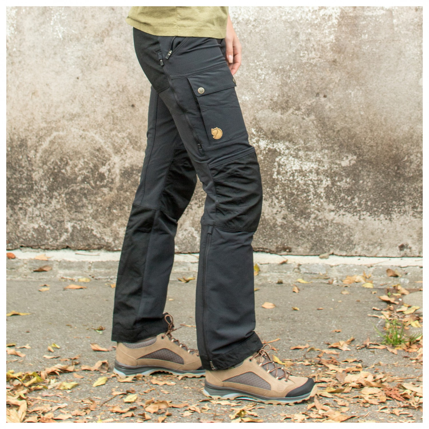 7c25afc6124 ... Fjällräven - Women's Keb Touring Trousers - Mountaineering trousers ...