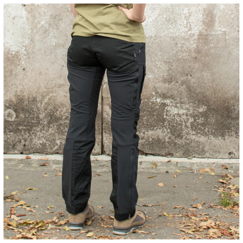 auf großhandel noch eine Chance hochwertige Materialien Fjällräven - Women's Keb Touring Trousers - Tourenhose - Black | 32 - Short  - Fixed Length (EU)