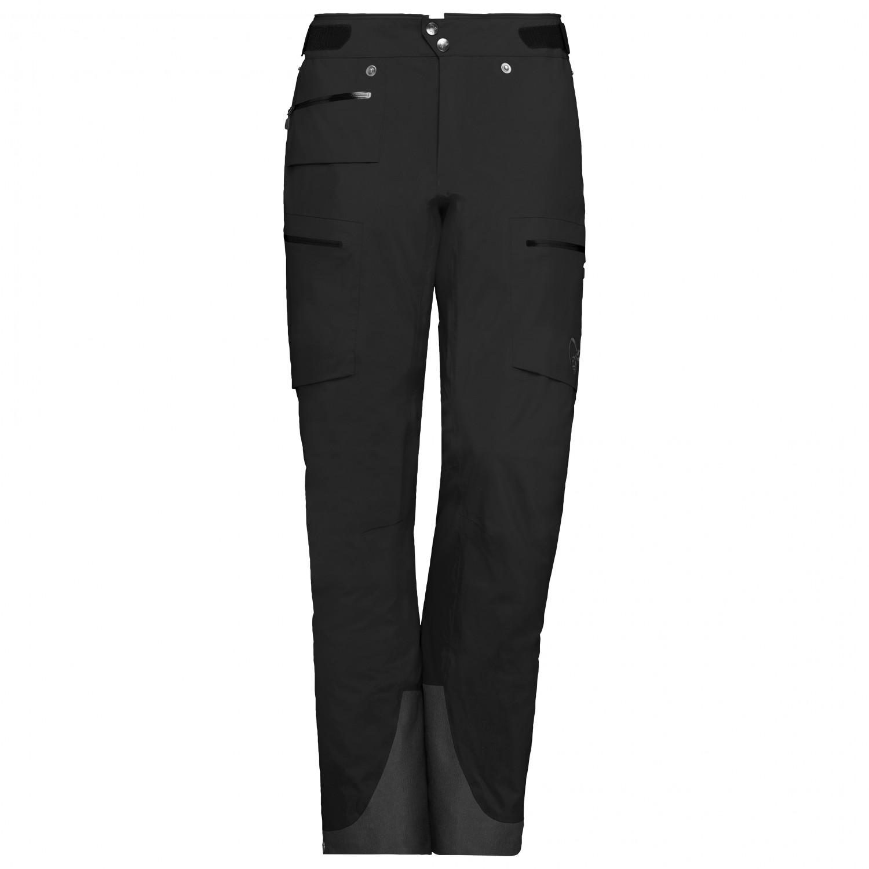 Norrøna Women's Lyngen Gore Tex Pro Pants Skibukser Caviar   XS