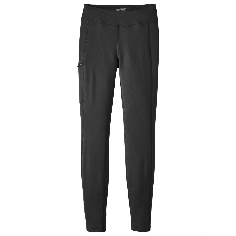 buy popular f98fe 84f9f Patagonia - Women's Crosstrek Bottoms - Pantaloni in pile - Black | XS