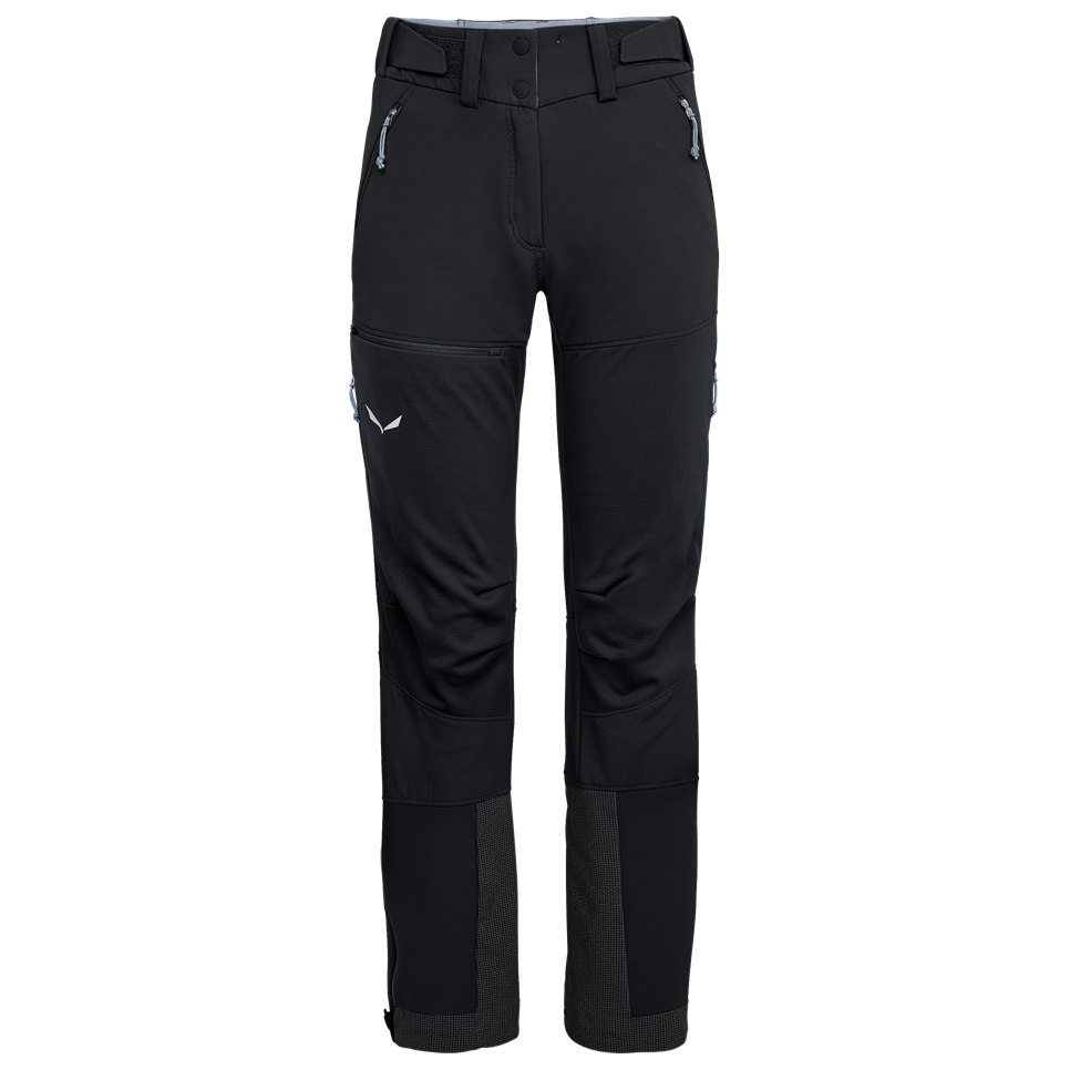 Salewa Women's Ortles 2 WSDST Pant Softshell trousers Black Out   34 Regular (EU)