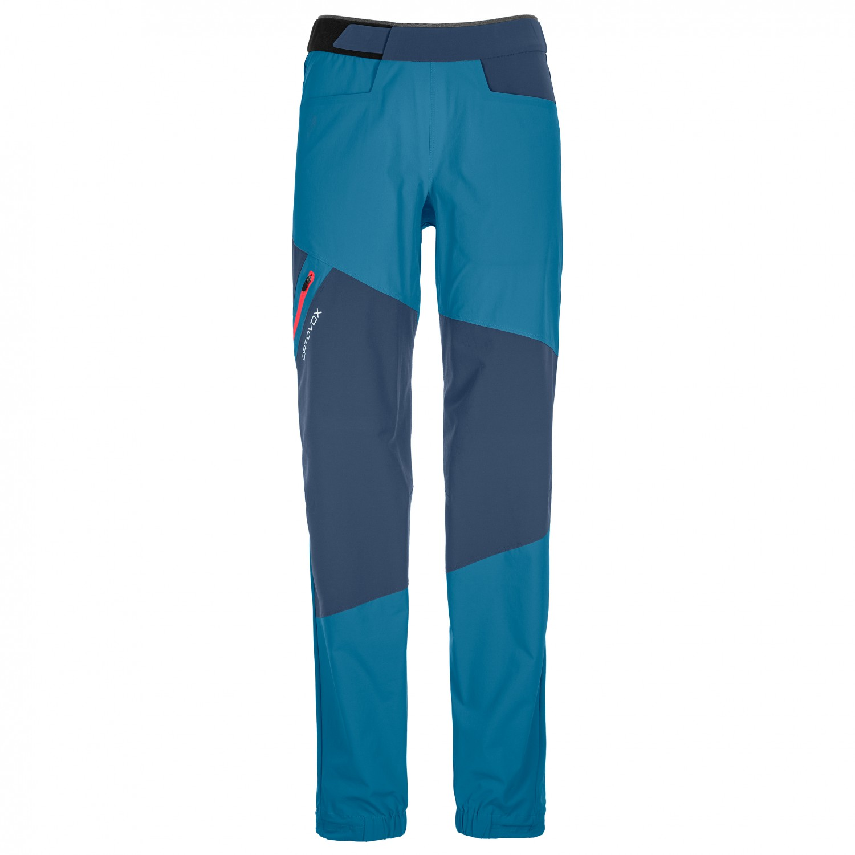 Ortovox Women's Vajolet Pants Kletterhose Green Isar | XS