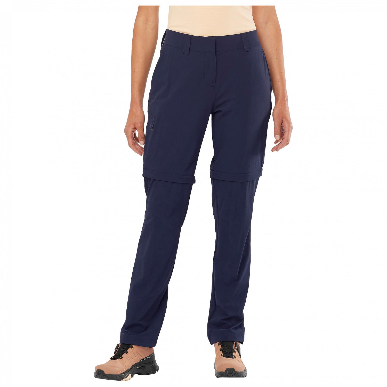 Pantaloni Donna Wayfarer Zip Pant Trekking Da Porto Salomon YxtUwSq6nY
