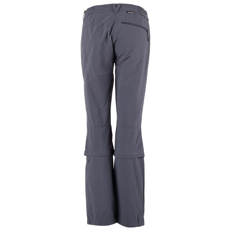 gutes Geschäft neuer Stil von 2019 bis zu 80% sparen Schöffel - Women's Pants Engadin Zip Off - Trekkinghose - Charcoal | 18 -  Short (EU)