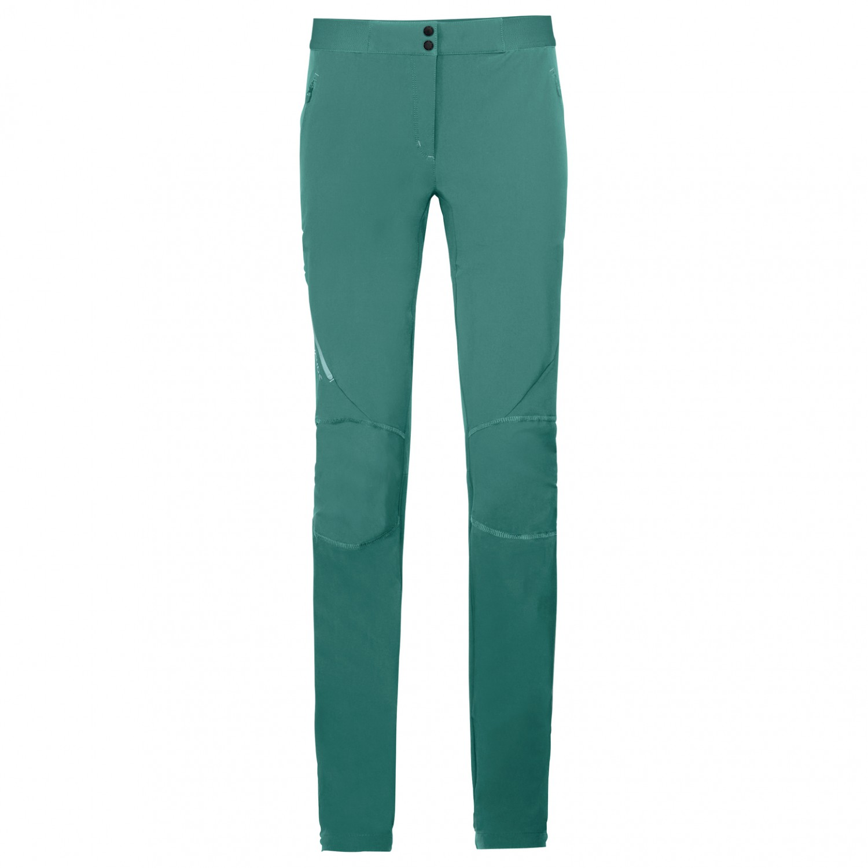 f5ff9a20f7 Vaude - Women's Scopi Pants II - Pantaloni da trekking - Nickel Green   34  - Regular (EU)