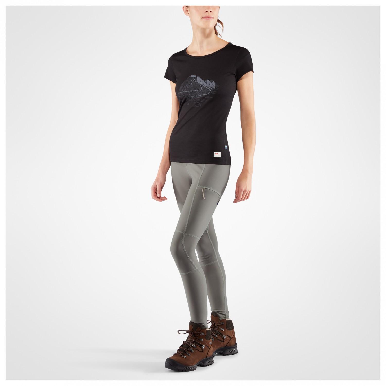 4014506eb3be8 Fjällräven Abisko Trail Tights - Walking Trousers Women's | Free UK ...