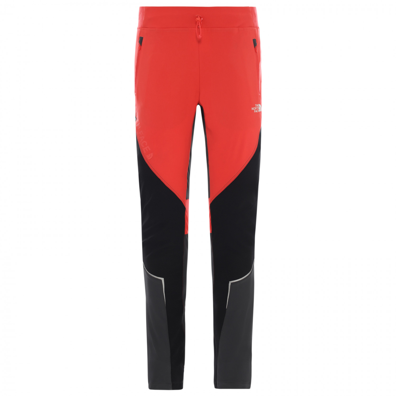 The North Face Women's Impendor Alpine Pant Pantalon de trekking Cayenne Red TNF Black Asphalt Grey   4 Regular (US)