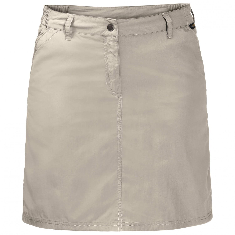 Women's Light Skort Sand38eu Kalahari Jack Wolfskin Skirt c5TJulK1F3