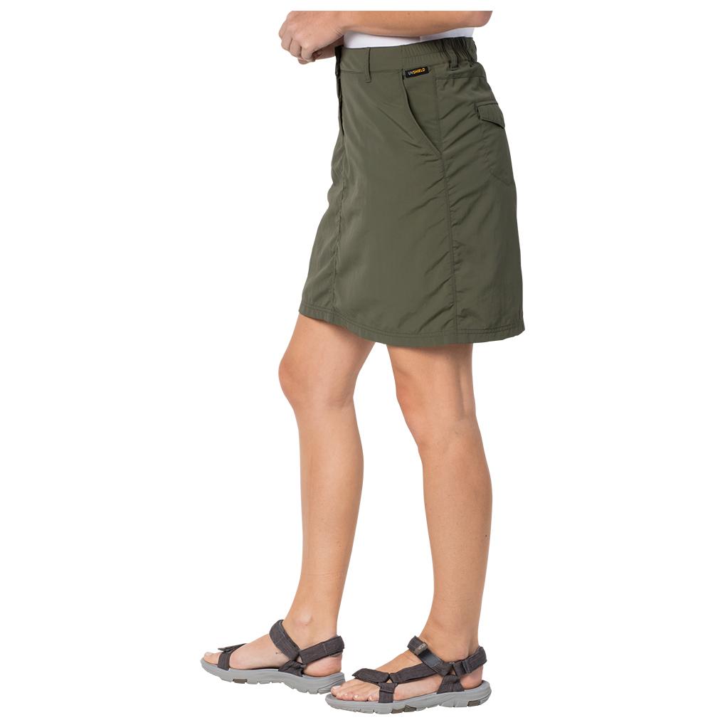 Kalahari Skort Wolfskin Jack Skirt Light Sand38eu Women's OZiuPkX