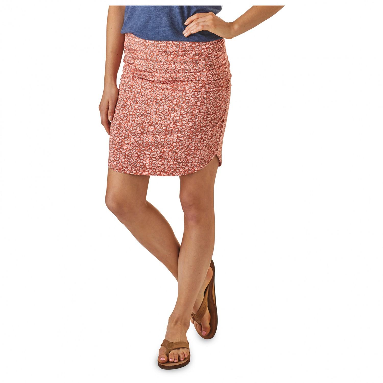 3dff0d1b4508 Patagonia Ribbon Falls Skirt - Rock Damen online kaufen   Bergfreunde.de