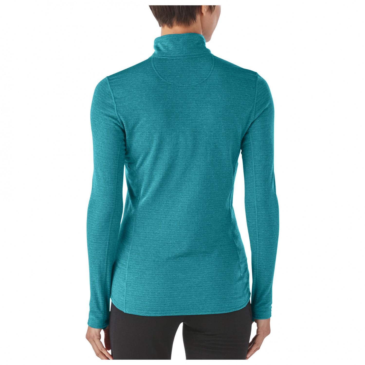 bc823c652 Patagonia - Women's Capilene Thermal Weight Zip Neck - Synthetic base layer  - Black | L