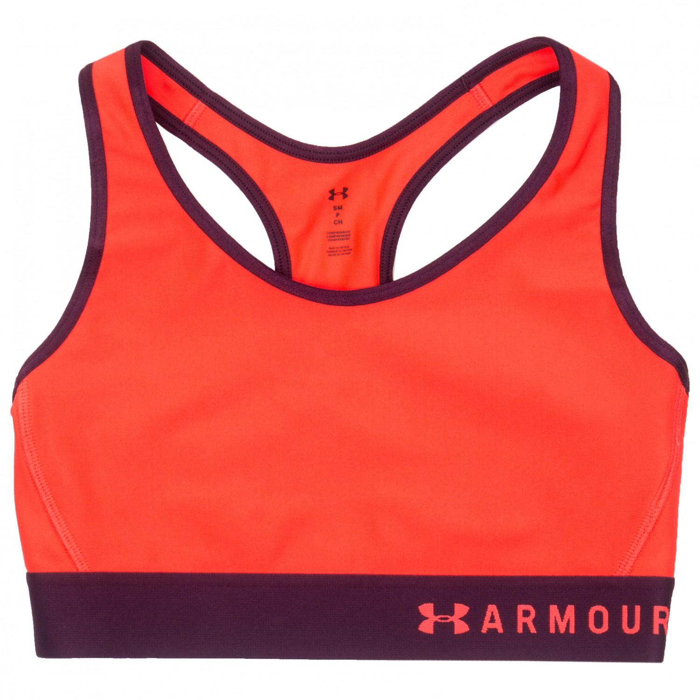 under armour armour mid keyhole sport bh dame kj p. Black Bedroom Furniture Sets. Home Design Ideas