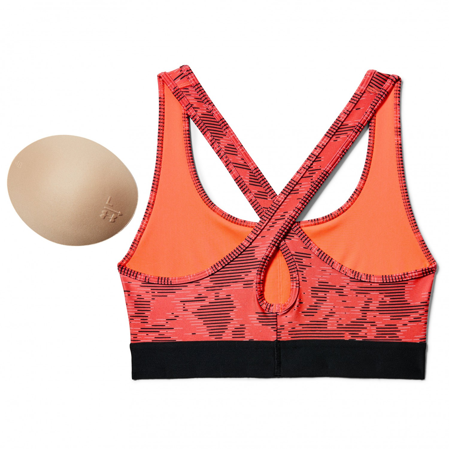 b567fcb7ee Under Armour - Women s Armour Mid Crossback Printed Bra
