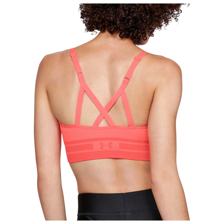 Under Armour Women's Seamless Longline Bra Sport BH Black Black | XS