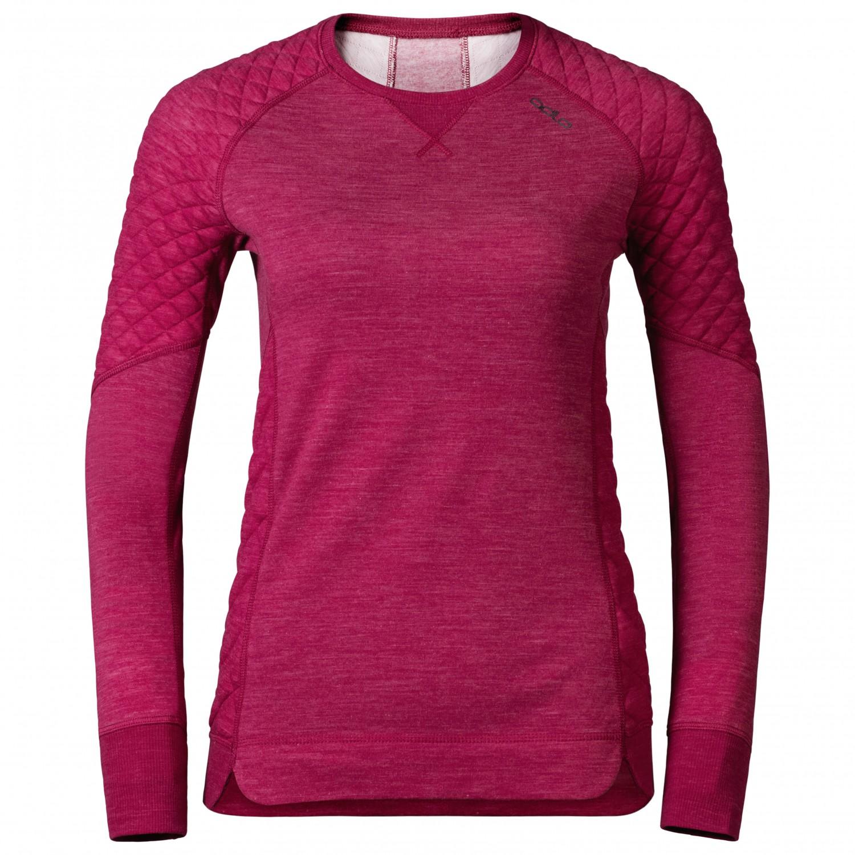 paras myynti tukku verkossa uk myymälä Odlo Revolution Tw X-Warm Shirt L/S Crew Neck - Merinovilla ...