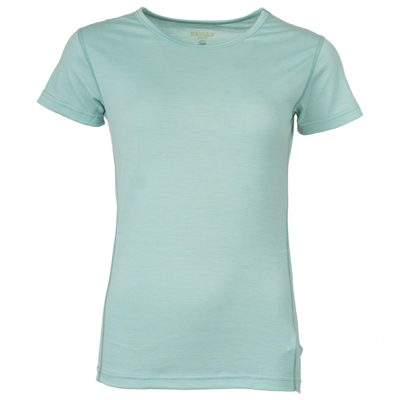 Devold Breeze Woman T Shirt Merino undertøj Bluebell Melange | XS