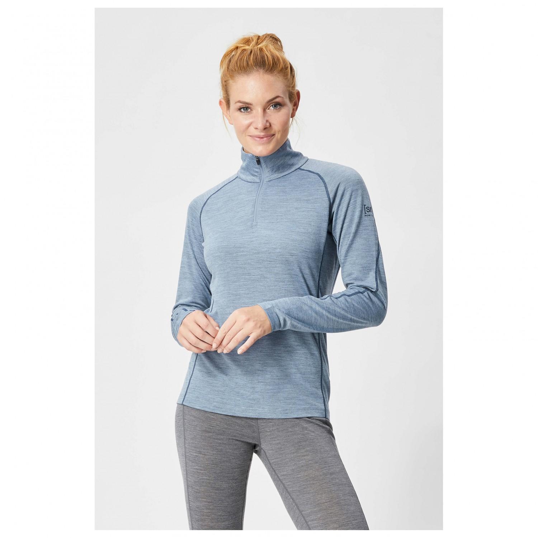 Super Natural Base 1//4 Zip 175 Merino Function Shirt Khaki