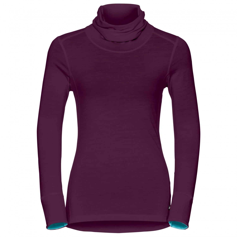 ennakkotilaus suuri alennus mistä voin ostaa Odlo Shirt L/S Turtle Neck Natural 100% Merino - Merinovilla ...