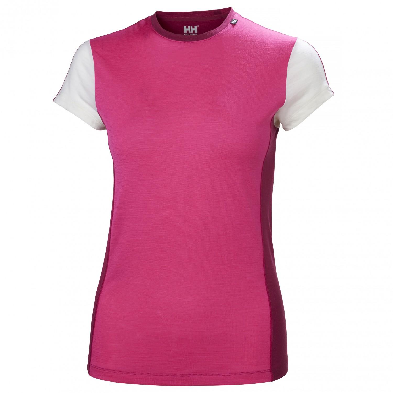 58305d6a Helly Hansen HH Merino Light S/S - Merino Base Layer Women's | Free ...