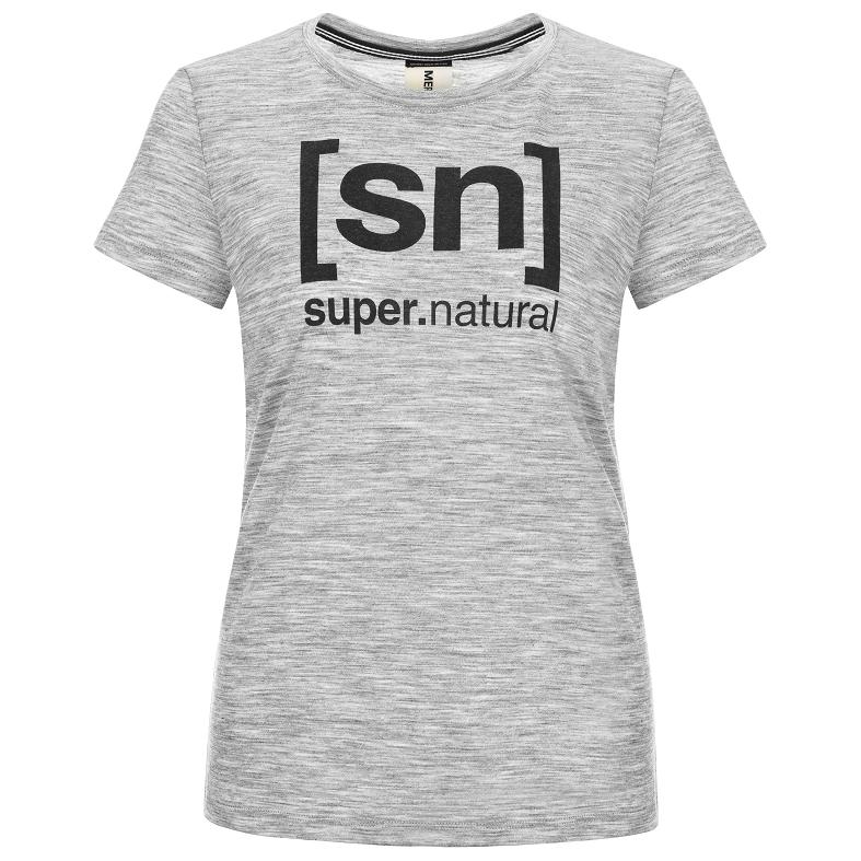 SuperNatural Essential I.D. Tee Merinounterwäsche Damen