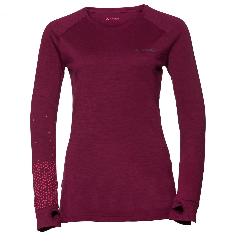 Vaude - Women s Base L S Shirt - Merinovilla-alusvaatteet ... b15d2d2264