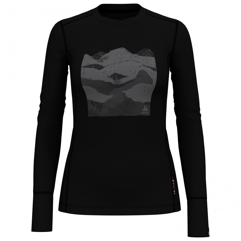 Odlo Herren Shirt L//S Crew Neck Natural 100/% Merino Unterw/äsche