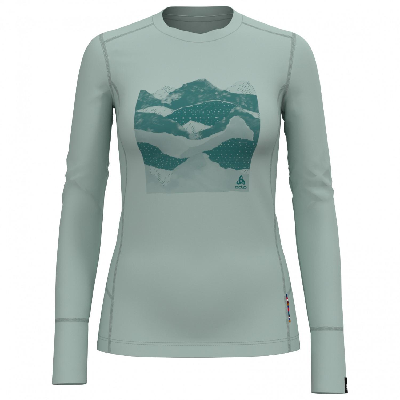 Odlo Damen Bl Top Crew Neck L//S Alliance Shirt