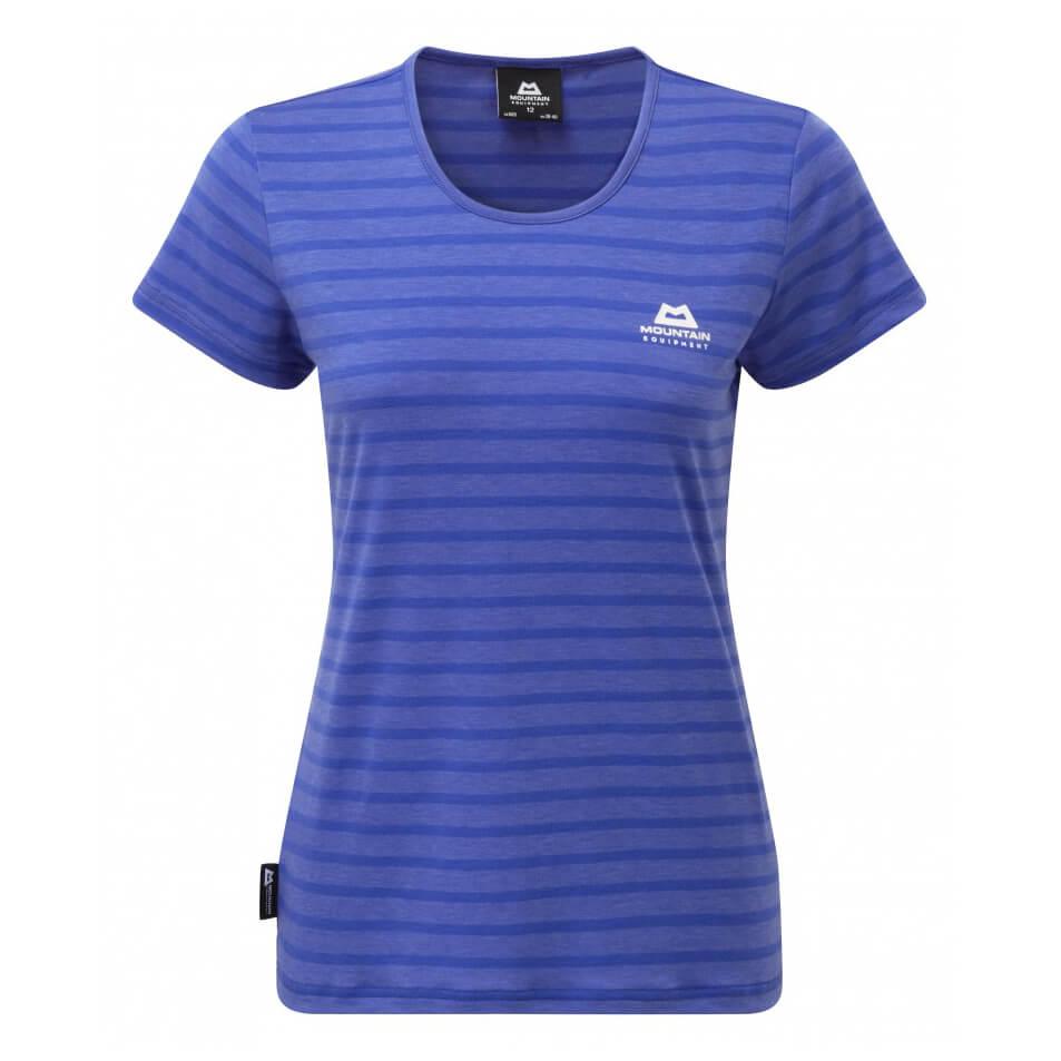 Mountain equipment groundup stripe tee t shirt women 39 s for Online tee shirt companies