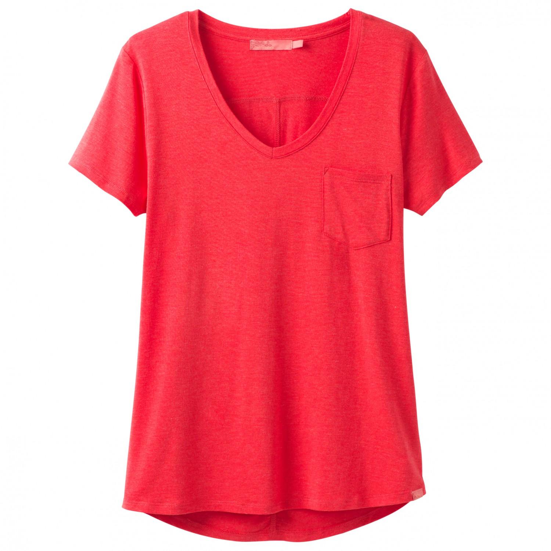 Prana foundation s s v neck top t shirt dame gratis for Prana women s shirts