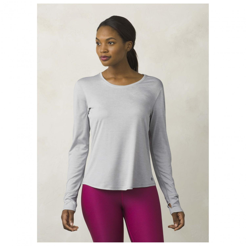 Prana revere l s tee yoga shirt women 39 s buy online for Prana women s shirts