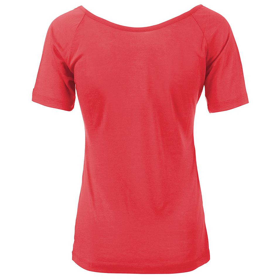 Supernatural essential scoop neck tee t shirt women 39 s for Scoop neck t shirt