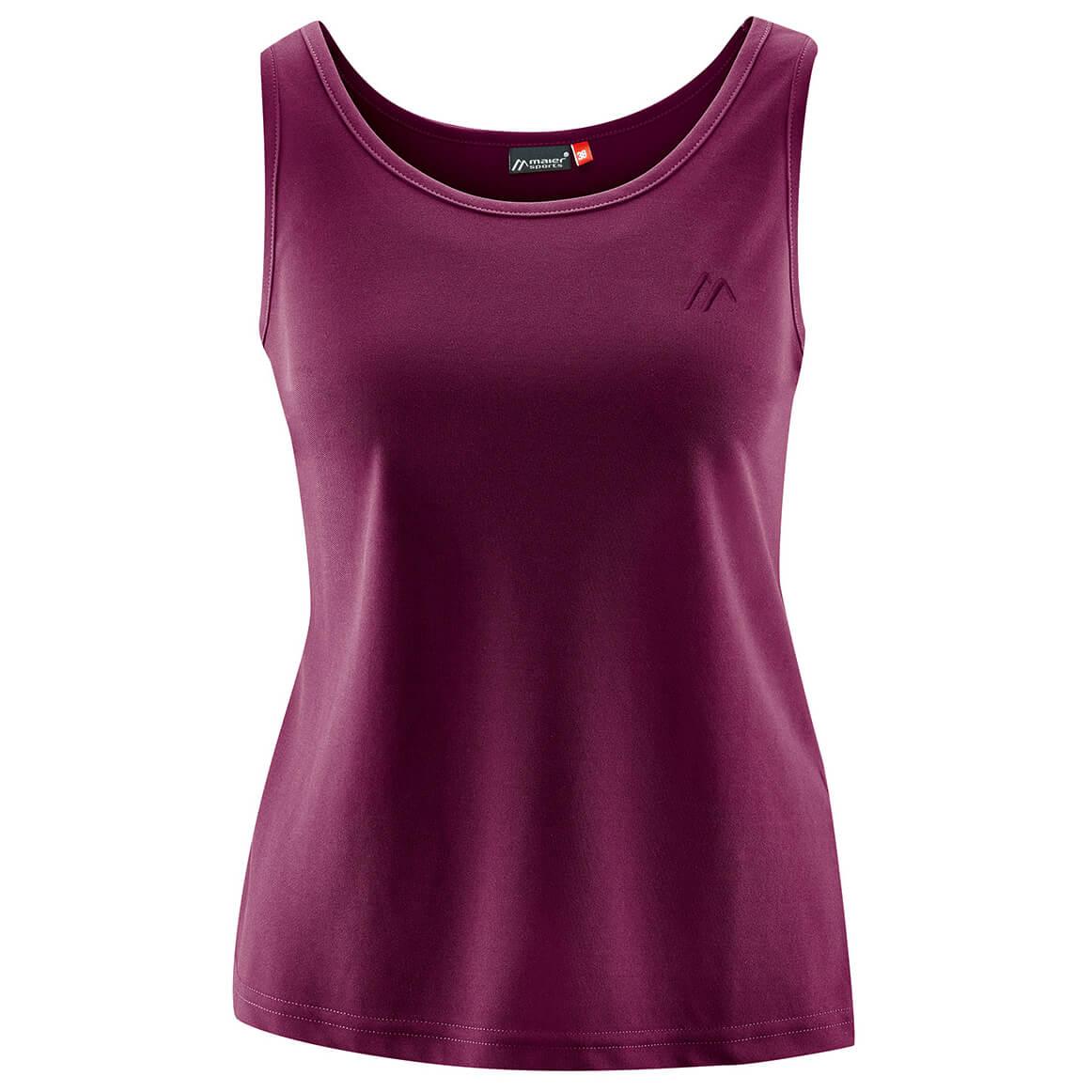 Camping & Outdoor Maier Sports Petra Damen Top Shirt violett Bekleidung