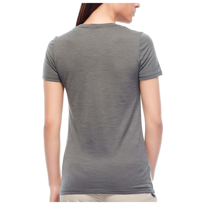 Icebreaker Women's Tech Lite SS Low Crewe Cadence T shirt