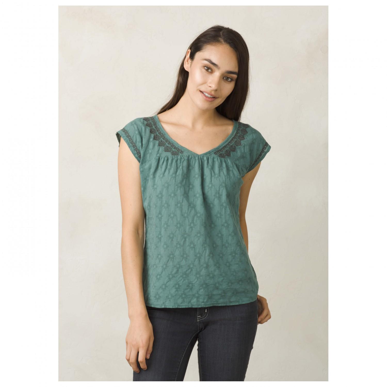 Prana blossom top t shirt damen versandkostenfrei for Prana women s shirts