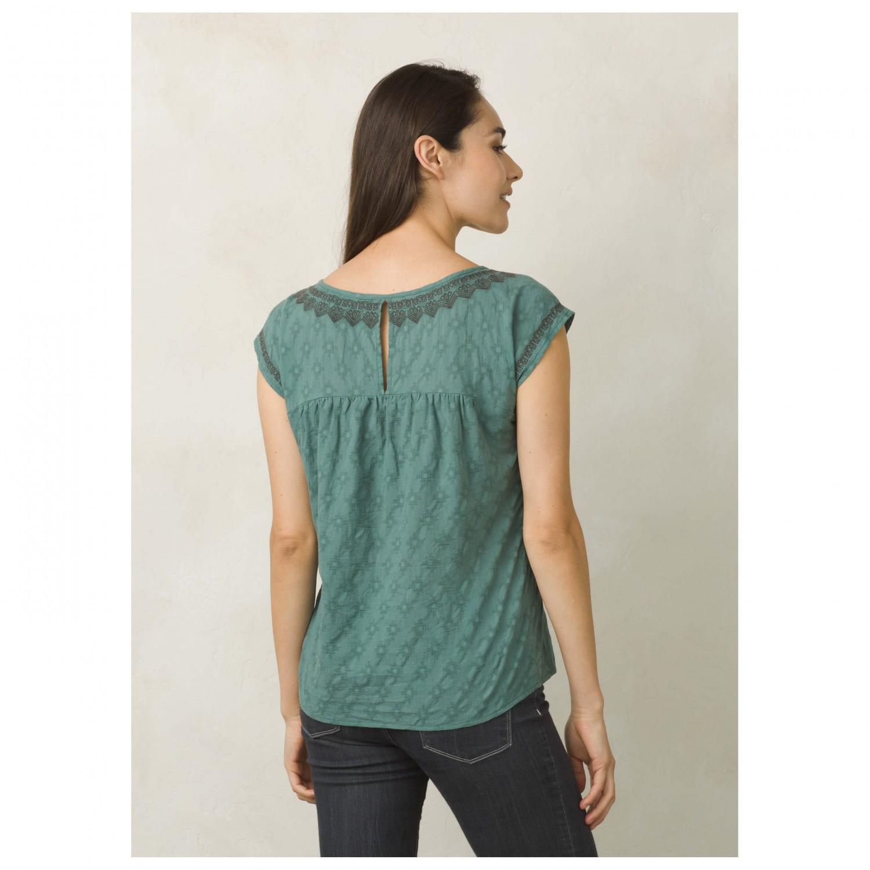 Prana blossom top t shirt femme livraison gratuite for Prana women s shirts
