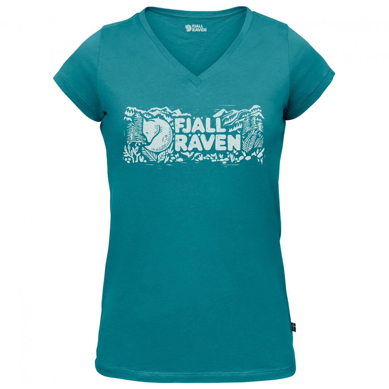 nieuwe release high fashion gratis verzending Fjällräven - Women's Logo Stamp T-Shirt - T-shirt