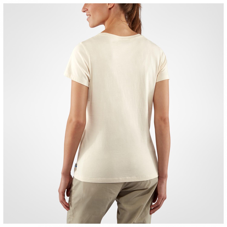 Fjällräven Arctic Fox Print T Shirt T shirt Dame køb