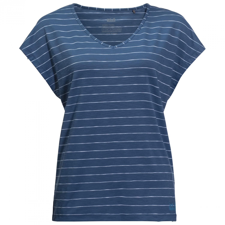 promo code 11193 24538 Jack Wolfskin Travel Striped T - T-Shirt Damen online kaufen ...