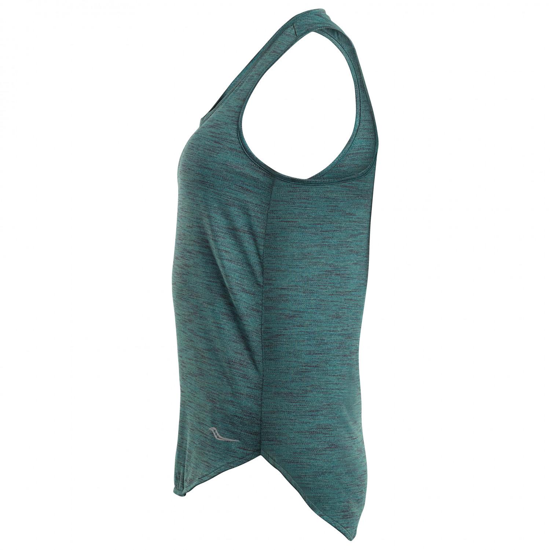 0db6a8be Saucony - Women's Gait Tank - Running shirt - Salmon Rose   XS