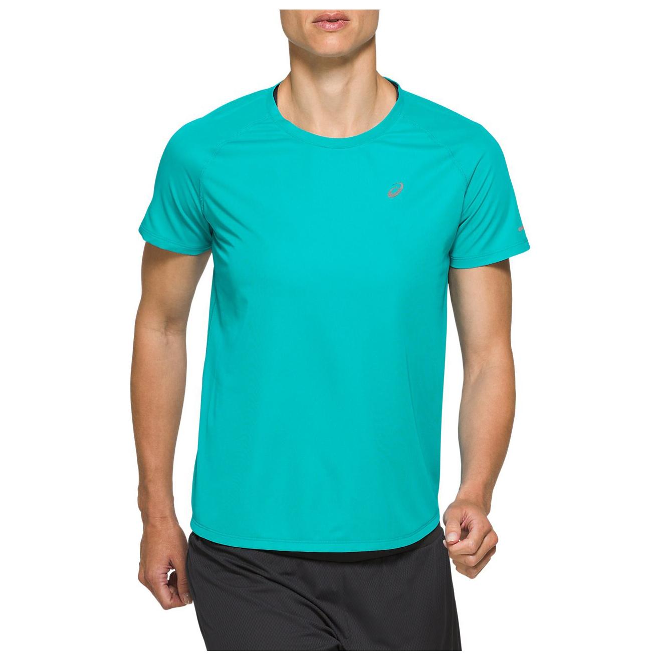 Asics - Women's Ventilate S/S Top - Running shirt - Lagoon | XS