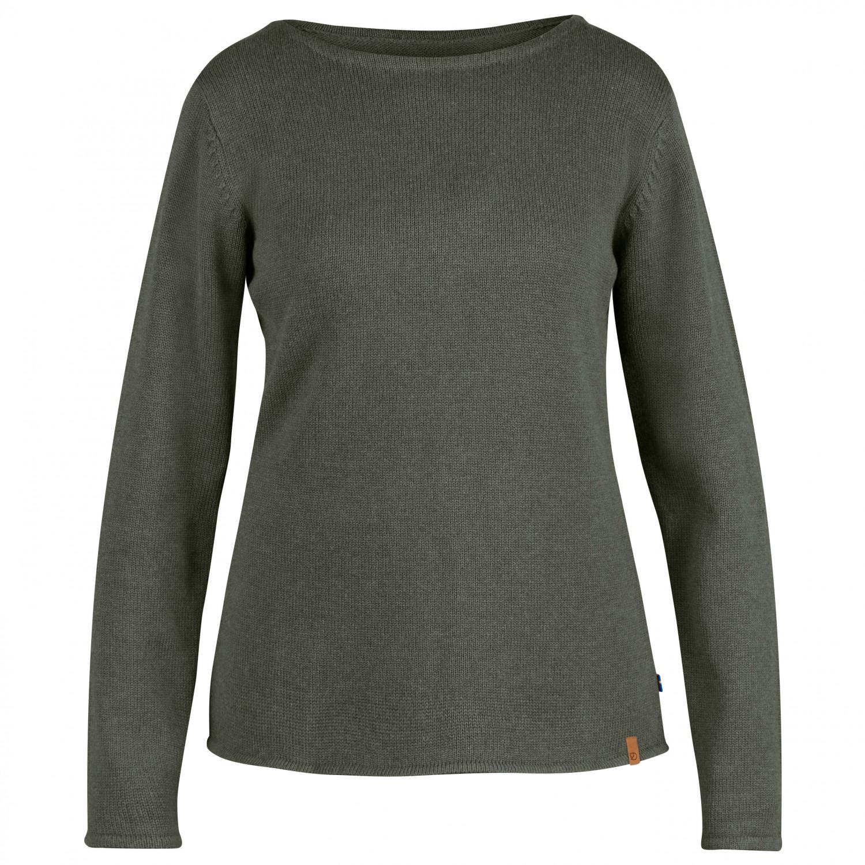 fj llr ven kiruna knit sweater pullover damen. Black Bedroom Furniture Sets. Home Design Ideas