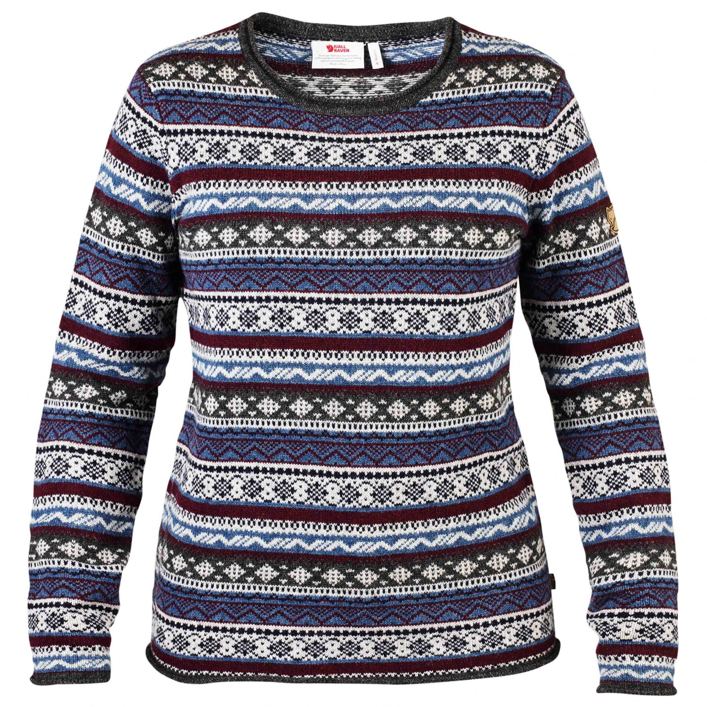 zahlreich in der Vielfalt guter Service Turnschuhe für billige Fjällräven - Women's Övik Folk Knit Sweater - Jumper