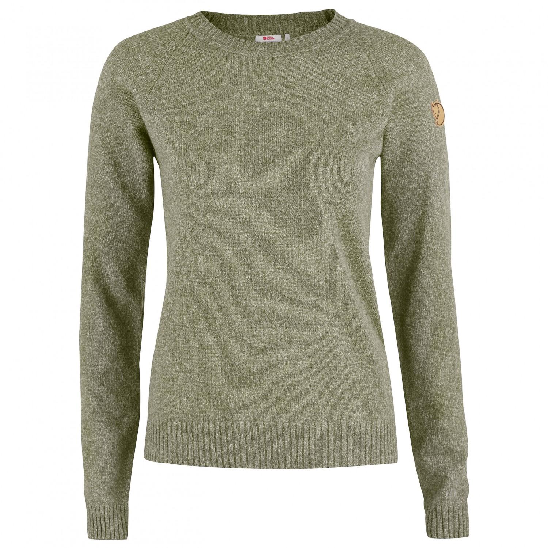 fj llr ven vik re wool sweater pullover damen. Black Bedroom Furniture Sets. Home Design Ideas